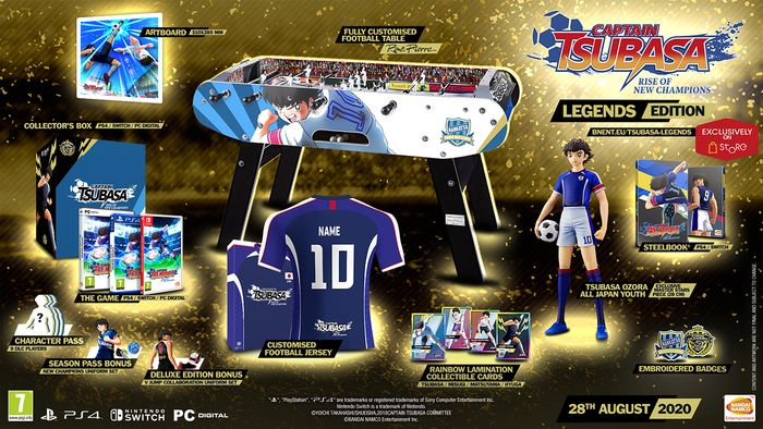 Captain Tsubasa: Rise of the New Champions Launch Date was Introduced 3
